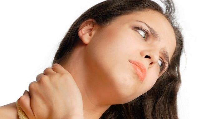 ушная боль и боль в шее