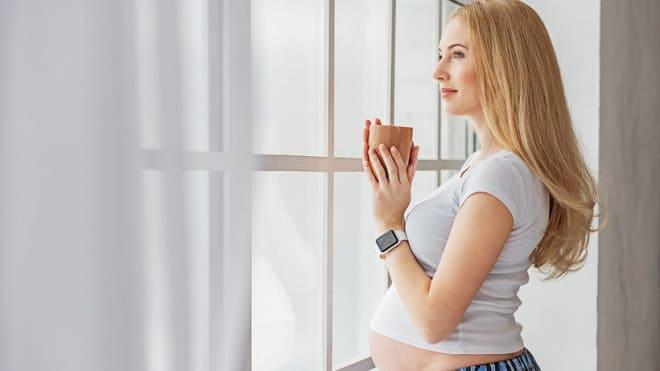 Чай с малиной в период беременности