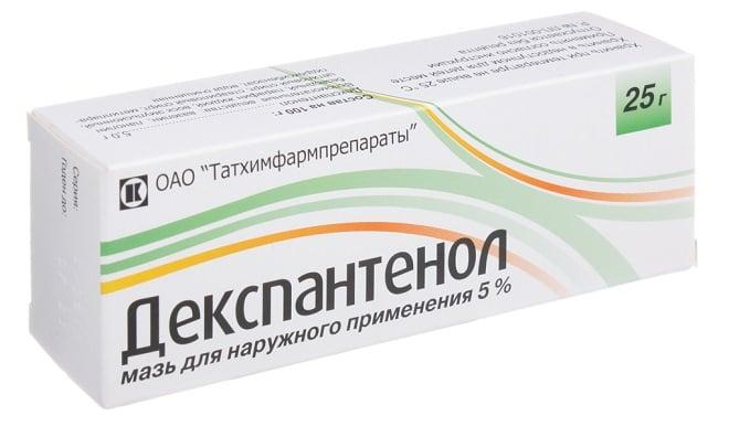 Декспантенол – недорогой российский препарат