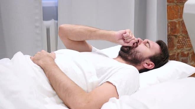 кашель ночью у мыжчины