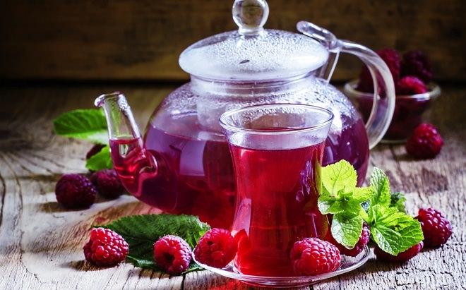 Чай с малиной полезные свойства
