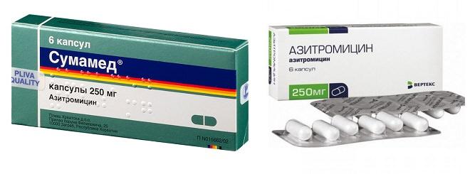 Особенности выбора Сумамеда или Азитромицина