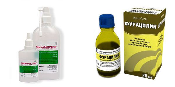 miramistin i furacilin лечим казеозные пробки