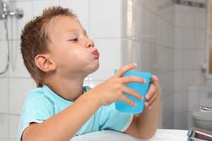 Здоровое горло у ребенка