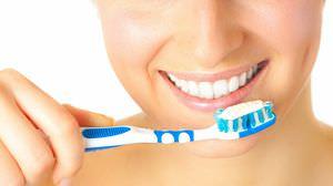 чистим зубы на ночь