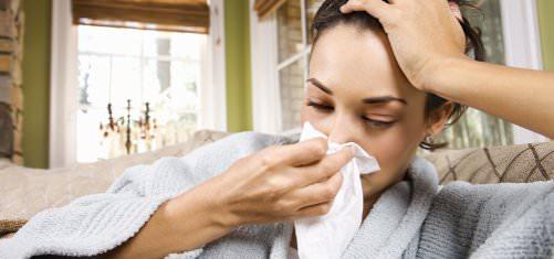 Желтая жидкость из носа после насморка