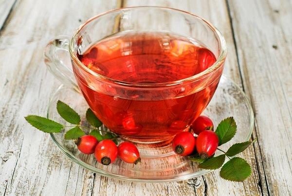 чай с шиповником при полипозном гайморите