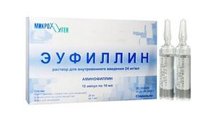 Эуфиллин - лекарственный препарат