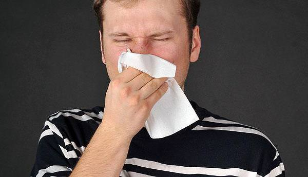 опухоль в носу сопровождается выделениями из носа