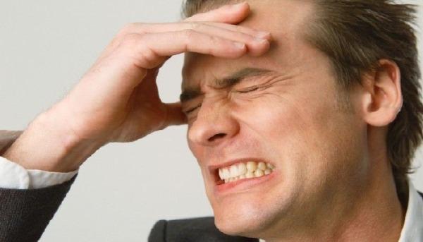 Боли в лобной части головы