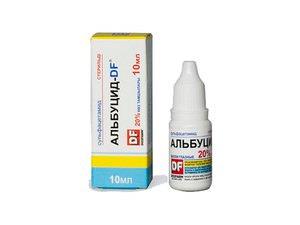 Особенности использования глазных капель Альбуцид