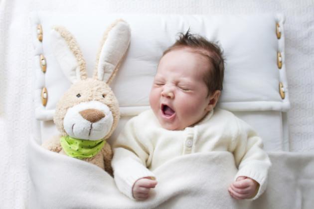 Отек носа мешает малышу спать и есть