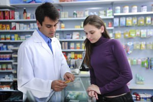 В аптеке