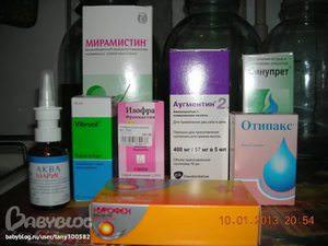 Лекарства для отита в аптеке