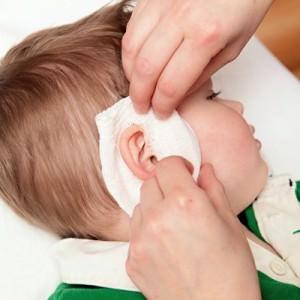 Лечение ушка ребенка
