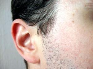 Горит левое ухо