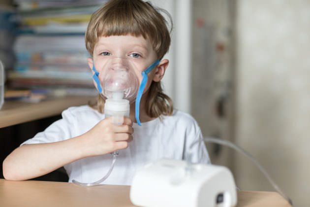 При заложенности горла помогут ингаляции
