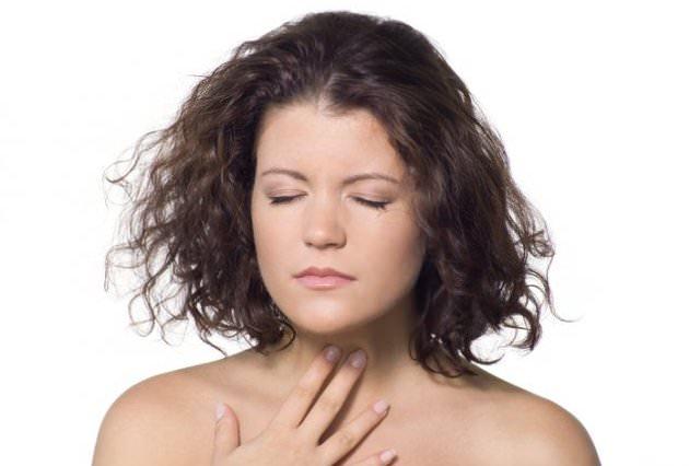 больв горле и грудной клетке
