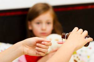 Действие лекарства на организм ребенка