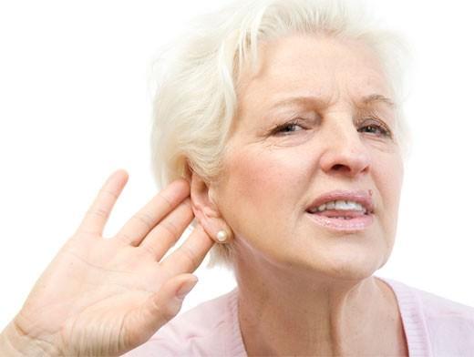 Поражение слуха