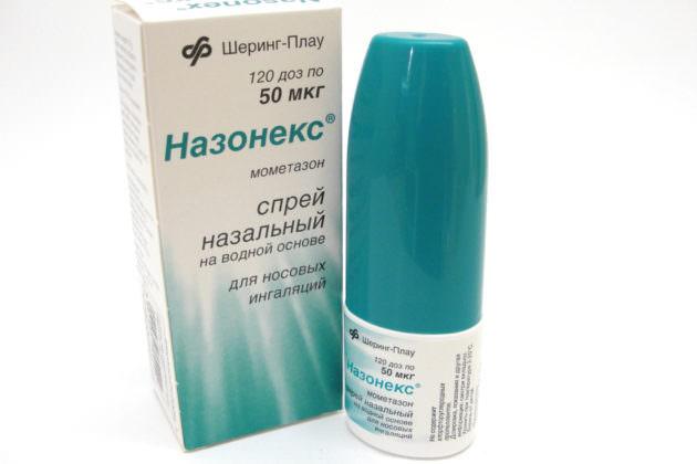 Спрей Назонекс для лечения затяжного насморка аллергической природы
