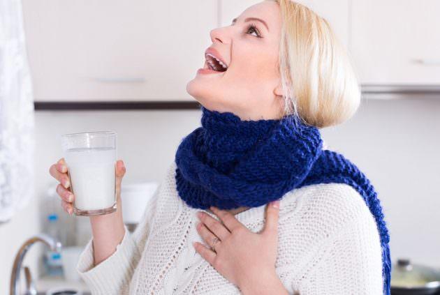 Полоскание горла йодом и солью
