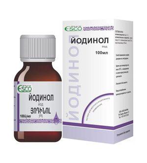 Как используется препарат йодинол