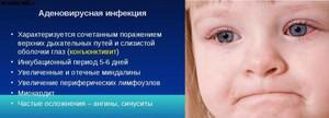 Аденовирусная инфекция - определение и описание термина