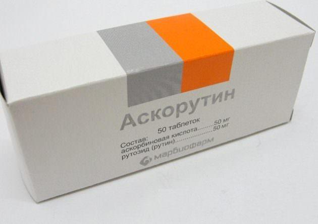 Аскорутин в лечении соплей с кровью