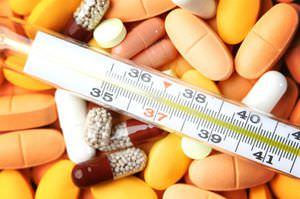 Сбить температуру можно аспирином или парацетамолом