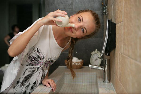 промывание носа отваром ромашки для лечения насморка при грудном вскармливании