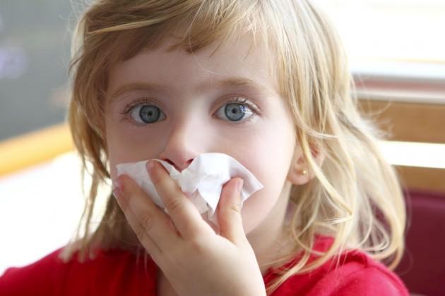 кровь из носа у ребенка