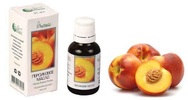 Применение персикового масла для носа