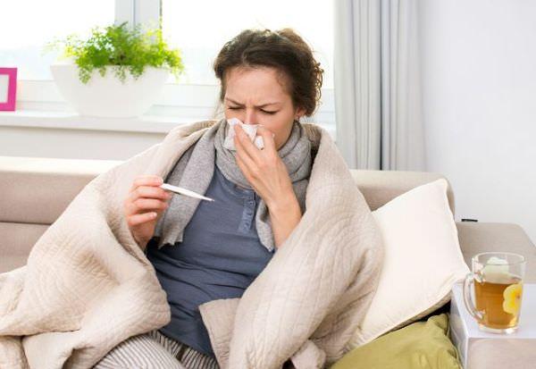 температура при гайморите