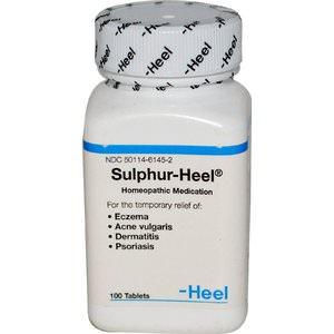 Описание препарата гепар сульфур