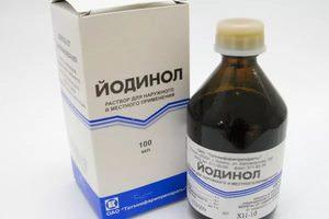 Как используется раствор йодинола