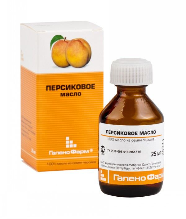 Персиковое масло в нос