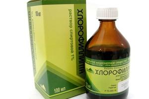 Хлорофиллипт спиртовой раствор