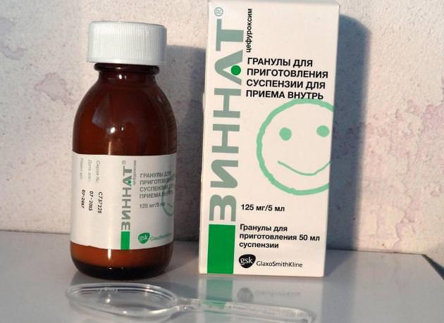 Зиннат - антибиотик при фарингите у детей