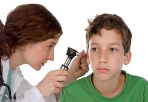 Хронический отит у ребенка