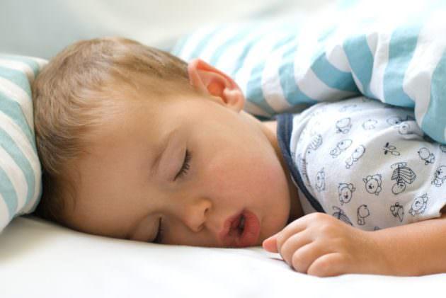 Ребенок дышит ртом во сне