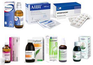 Перечень и описание препаратов-аналогов АЦЦ для лечения кашля у детей