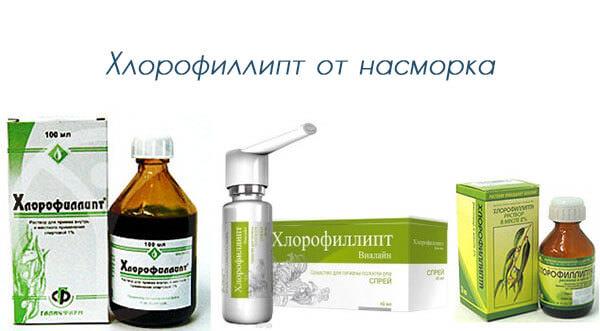 khlorofillipt ot nasmorka