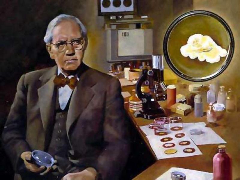 А. Флеминг британский биолог и нобелевский лауреат