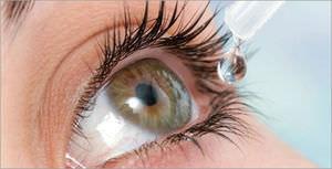 Закапывание глаз Ципромедом