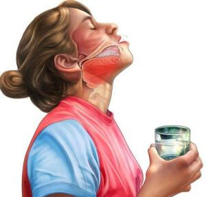 Народные средства в борьбе с сыпью в области горла