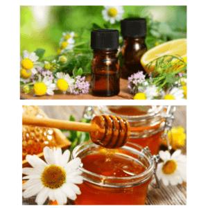 Эфирные масла и мед