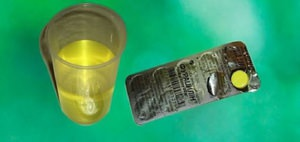 Приготовление и применение раствора Фурацилина для полоскания горла
