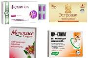 Негормональные препараты при климаксе, от приливов