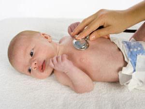 Лечение простуды у новородденного